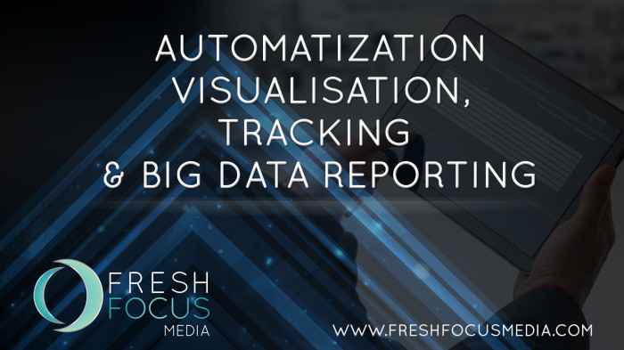 Automatization Visualisation, Tracking & Big Data Reporting